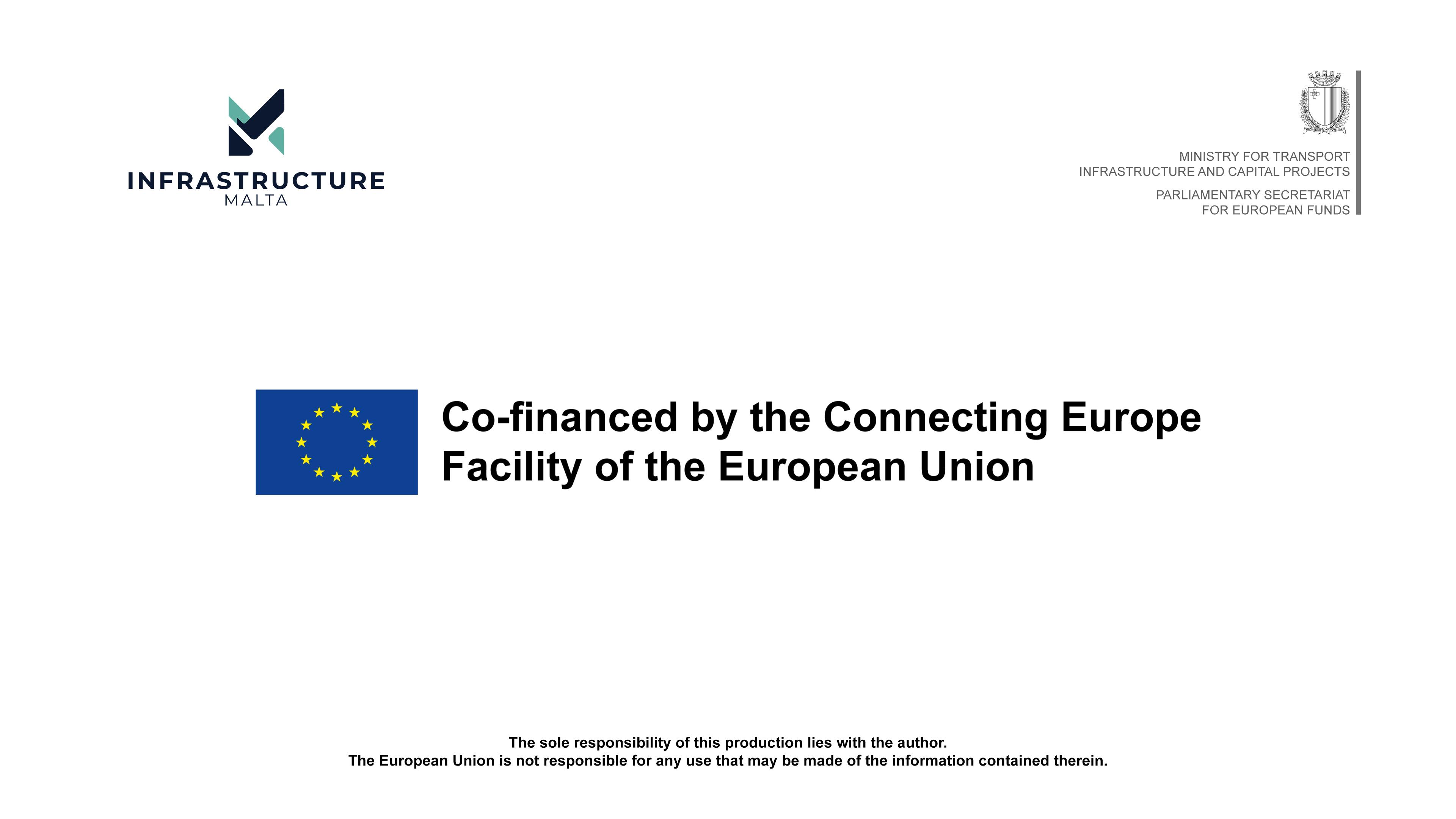 Project co-financed by the Connecting Europe Facility of the European Union